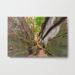 Gettysburg Grotto Metal Print