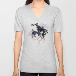black bird Unisex V-Neck