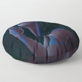 The Necromancer's Kiss Floor Pillow