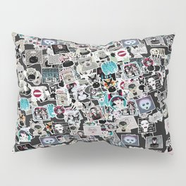 STICKERMANIA Pillow Sham