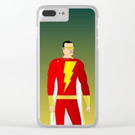 Shazam Clear iPhone Case
