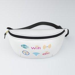Wifi Logo Fanny Pack