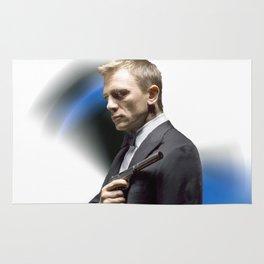 Daniel Craig as James Bond Rug