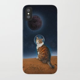 Meowter Space iPhone Case