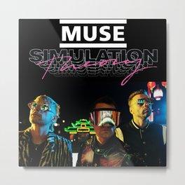 MUSE SIMULATION THEORY LIVE TOUR DATES 2019 BAKSO Metal Print