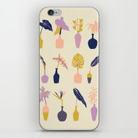 plants iPhone & iPod Skins featuring Plants by Sofia Noceti