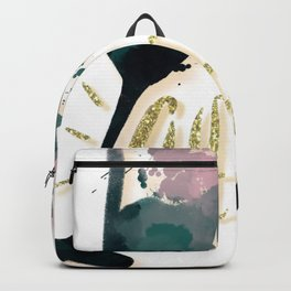 Sparkling Watercolor Cheers Backpack