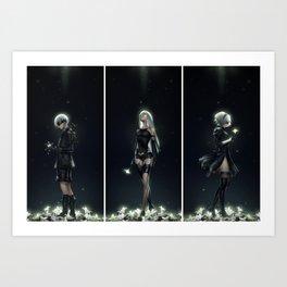 NieR: Automata Art Print