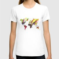 new order T-shirts featuring World Map new order by jbjart