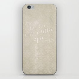Live Life with a Little Spice iPhone Skin