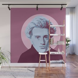 Soren Kierkegaard Wall Mural
