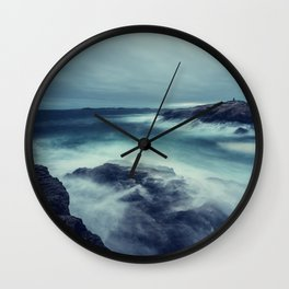Distant Cairn Wall Clock