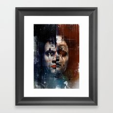 The return of Edward Hyde Framed Art Print