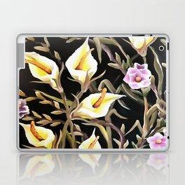 Arum Lily Artistic Floral Design Laptop & iPad Skin