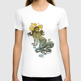 Lamia Yellow and Blue T-shirt