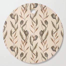 Poppy Pod Pattern Cutting Board