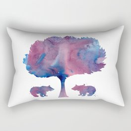 Bear Cubs Rectangular Pillow