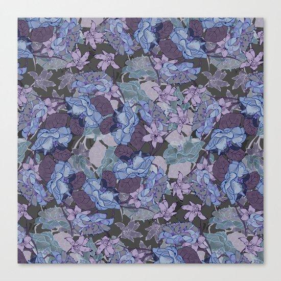 Seamless Flower  Pattern Canvas Print