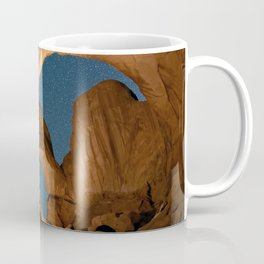 Double Arch In Arches National Park Coffee Mug