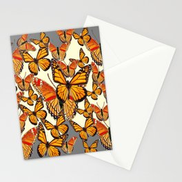MONARCH BUTTERFLY'S MASSING FOR MIGRATION Stationery Cards
