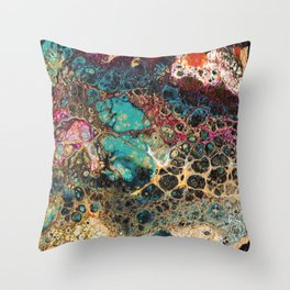 Beneath the Sea Throw Pillow