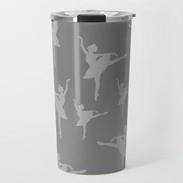 Grey Ballerinas Travel Mug