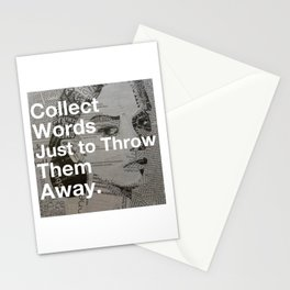 Collect words... Stationery Cards