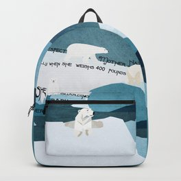 Respect Mother Nature 8 Backpack