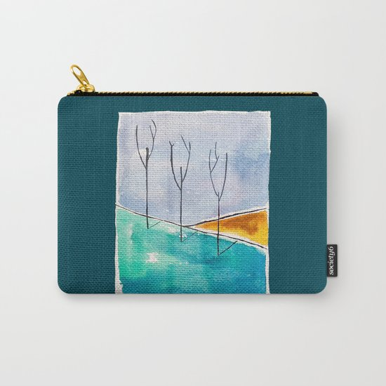 Only the Trees Carry-All Pouch