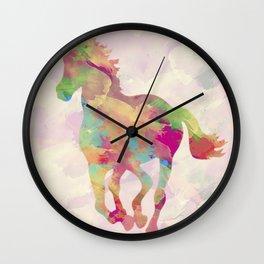 Abstract horse Wall Clock