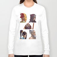 gorillaz Long Sleeve T-shirts featuring Diablo Days by Philtomato