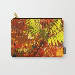 Japanese Rowan in Autumn Colours Carry-All Pouch