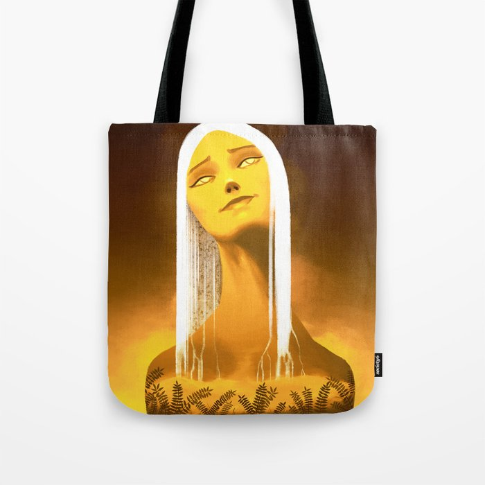 Luminescent Gold Tote Bag