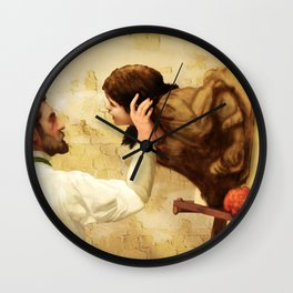 Artist and Muse Wall Clock