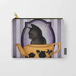 Teapot Cat Carry-All Pouch