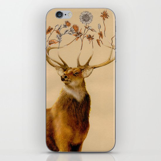Holistic Horns iPhone & iPod Skin