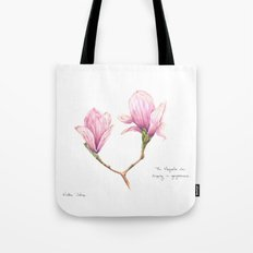 The Magnolia was dripping in gorgeousness Tote Bag