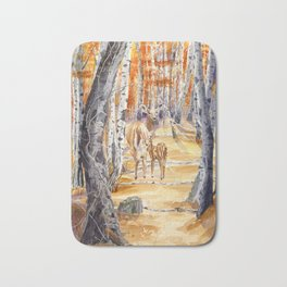 Woodland Deer Bath Mat