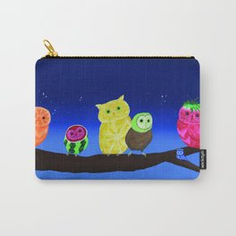 Fruit Owls Carry-All Pouch