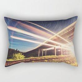 'Midnight Train to Georgia' Rectangular Pillow