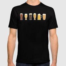 Beer Black MEDIUM Mens Fitted Tee