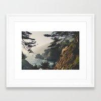 big sur Framed Art Prints featuring Big Sur by Ryan Matthew
