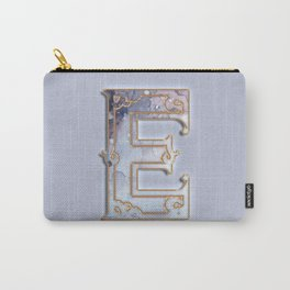 E letter monogram Carry-All Pouch