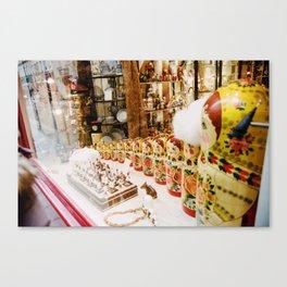 Russian Dolls on film Canvas Print