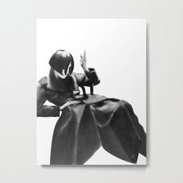 ODE TO KNIGHT Metal Print