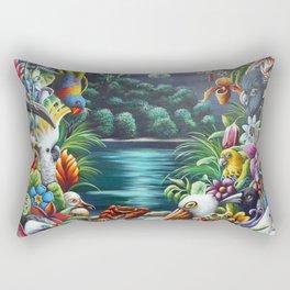 Magical Island Rectangular Pillow