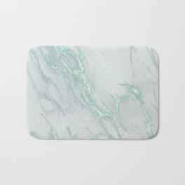 Marble Love Mint Metallic Bath Mat