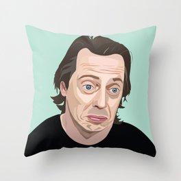 Steve Buscemi Throw Pillow