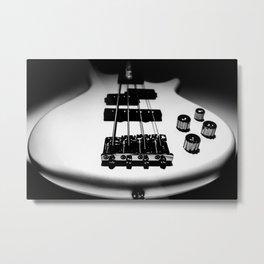 Bass Lines Metal Print