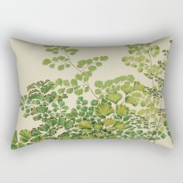Maidenhair Ferns Rectangular Pillow